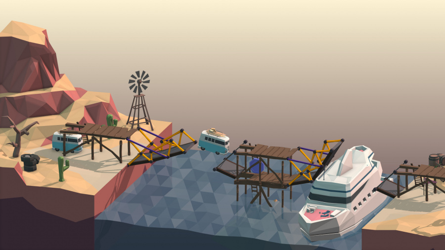 Poly Bridge Review - Screenshot 1 of 3