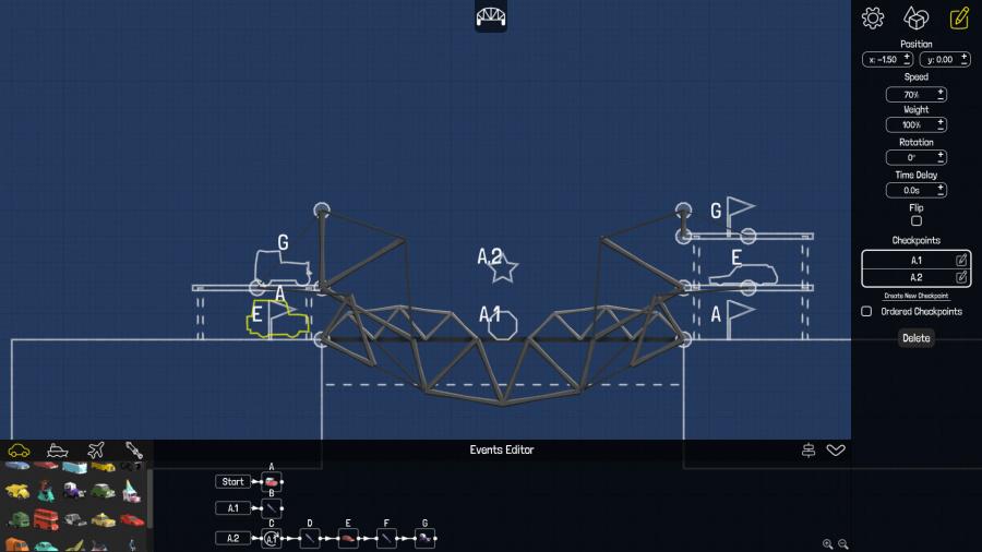 Poly Bridge Review - Screenshot 1 of 3