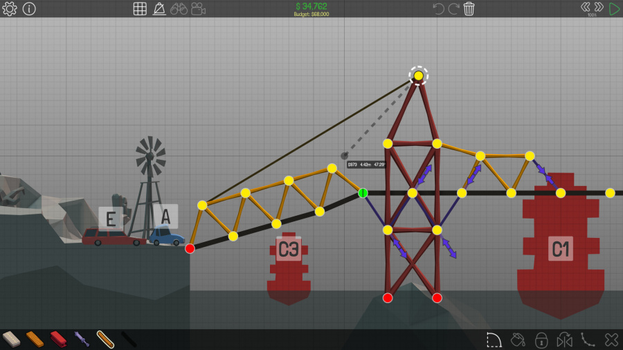Poly Bridge Review - Screenshot 3 of 3