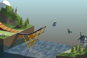 Poly Bridge Screenshot