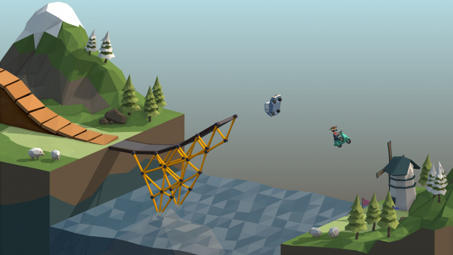 Poly Bridge Review - Screenshot 2 of 3