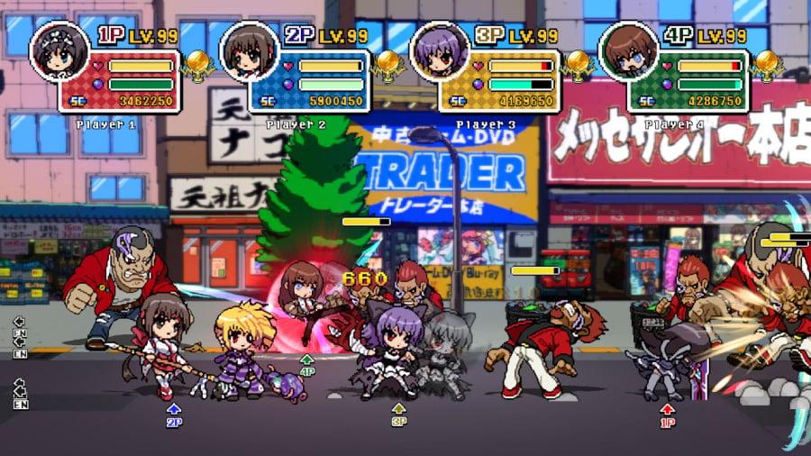 Phantom Breaker: Battle Grounds Overdrive Review - Screenshot 1 of 5