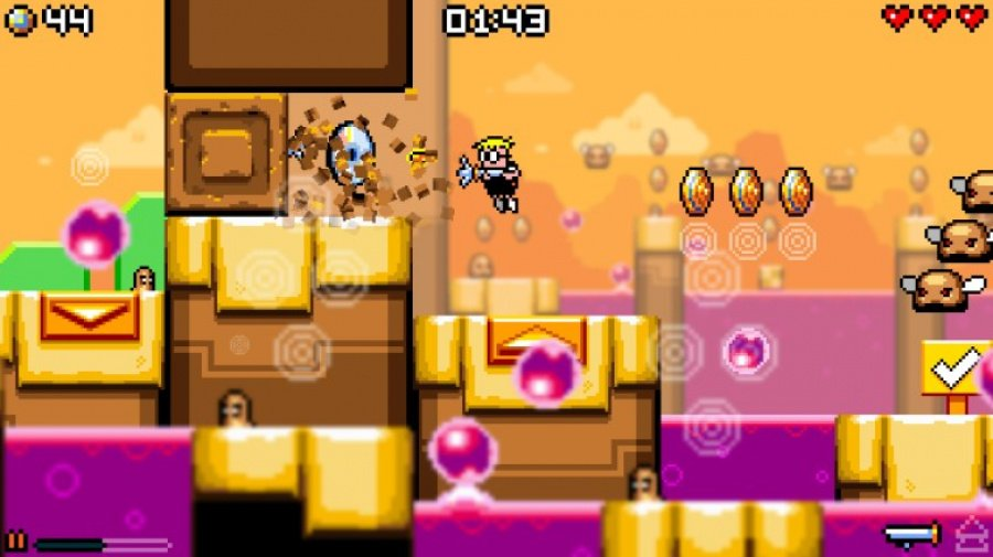 Mutant Mudds Collection Review - Screenshot 2 of 4