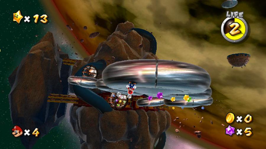 Super Mario Galaxy Review - Screenshot 4 of 5