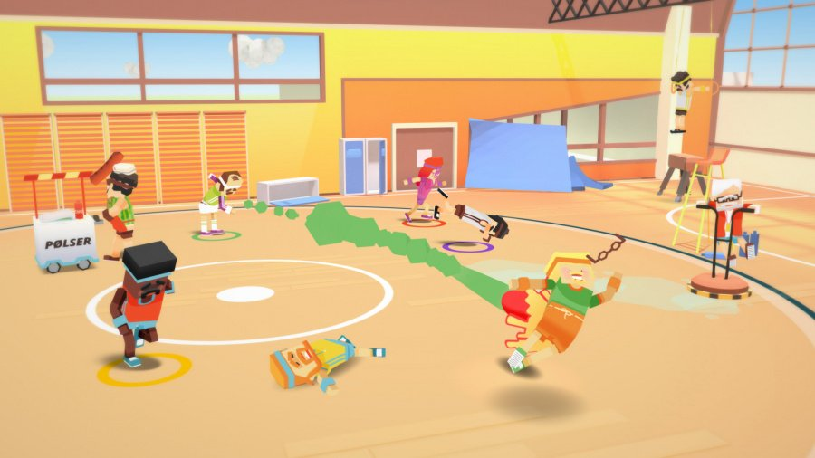 Stikbold! A Dodgeball Adventure Deluxe Review - Screenshot 1 of 4