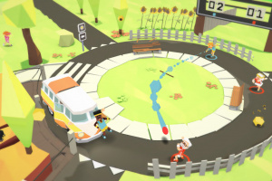 Stikbold! A Dodgeball Adventure Deluxe Screenshot