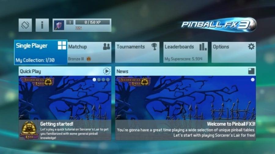 Pinball FX3 Review - Screenshot 1 of 5