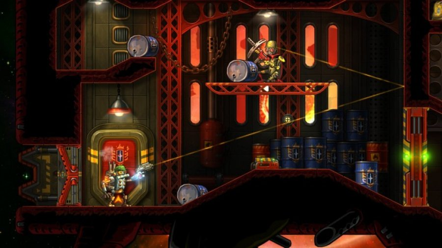 SteamWorld Heist: Ultimate Edition Review - Screenshot 1 of 4