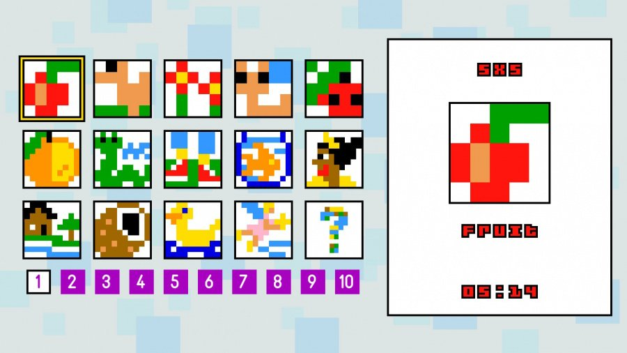 Pic-a-Pix Deluxe Review - Screenshot 1 of 3