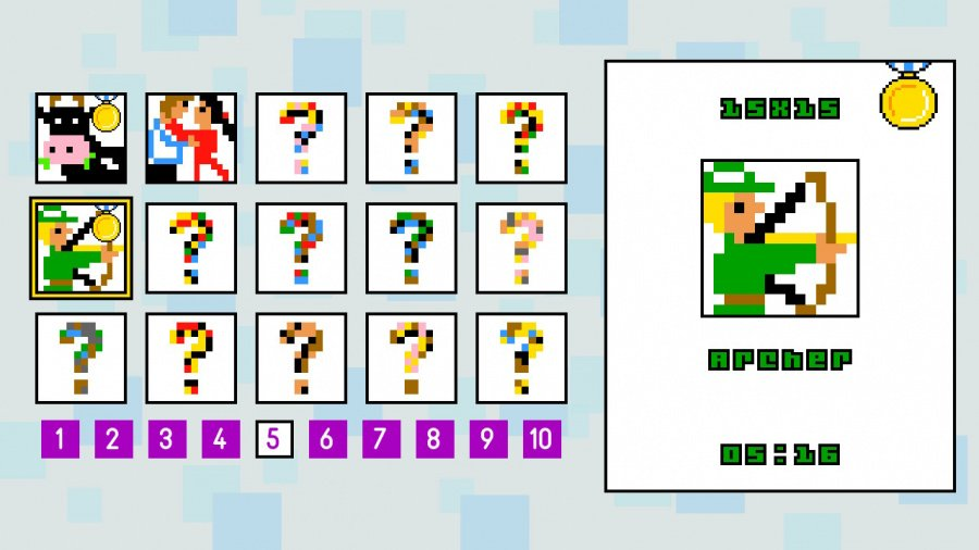 Pic-a-Pix Deluxe Review - Screenshot 2 of 3