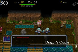 DragonFangZ - The Rose & Dungeon of Time Screenshot