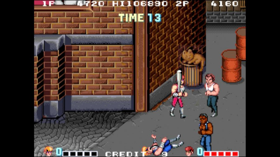 Arcade Archives Double Dragon Review - Screenshot 1 of 6