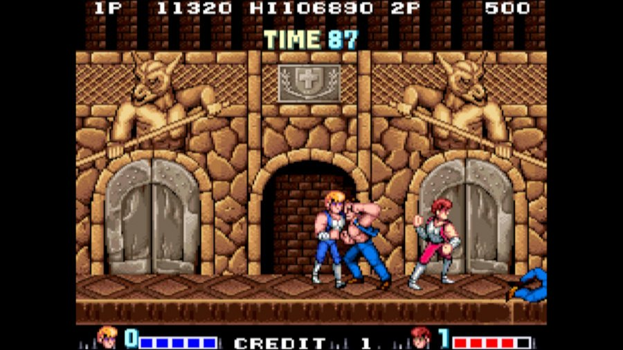 Arcade Archives Double Dragon Review - Screenshot 2 of 6