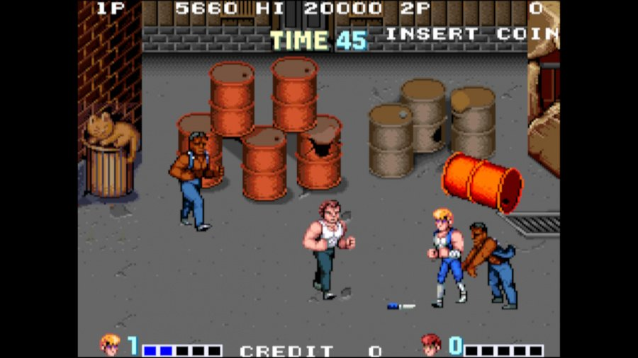Arcade Archives Double Dragon Review - Screenshot 4 of 6