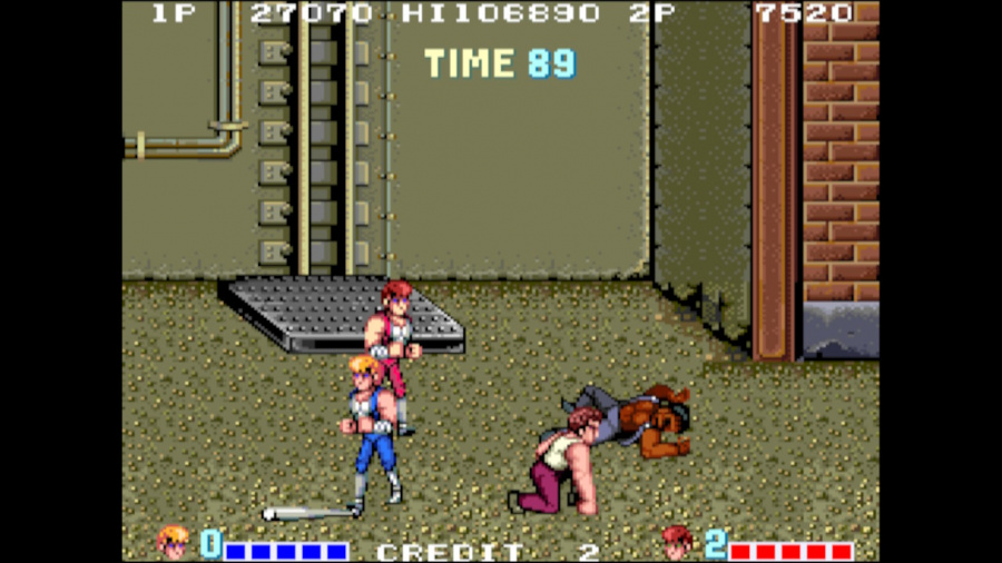 Arcade Archives Double Dragon Review - Screenshot 5 of 6