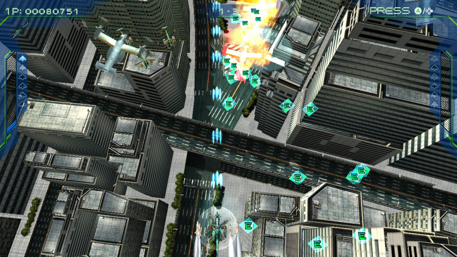 Zero Gunner 2 Review - Screenshot 2 of 4