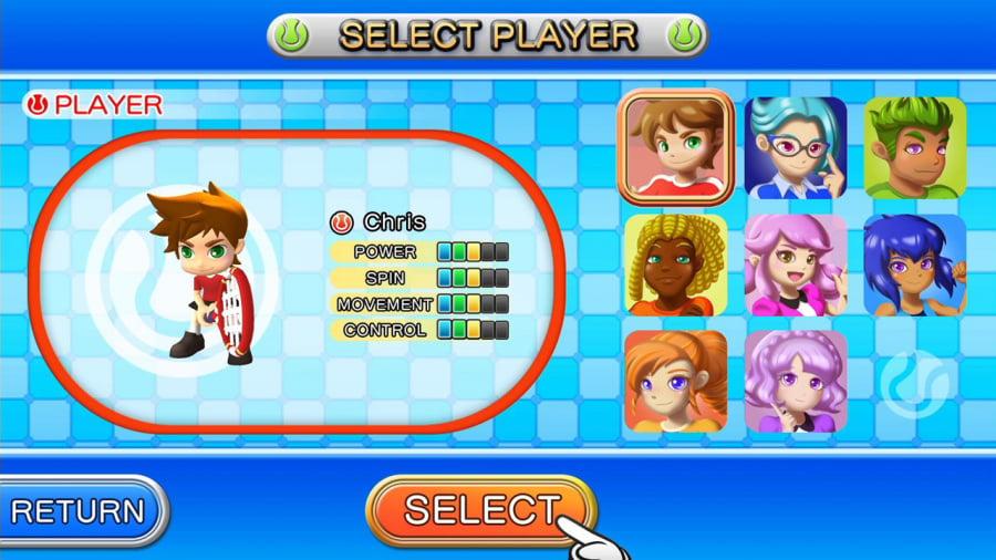 Tennis Review - Screenshot 1 of 4