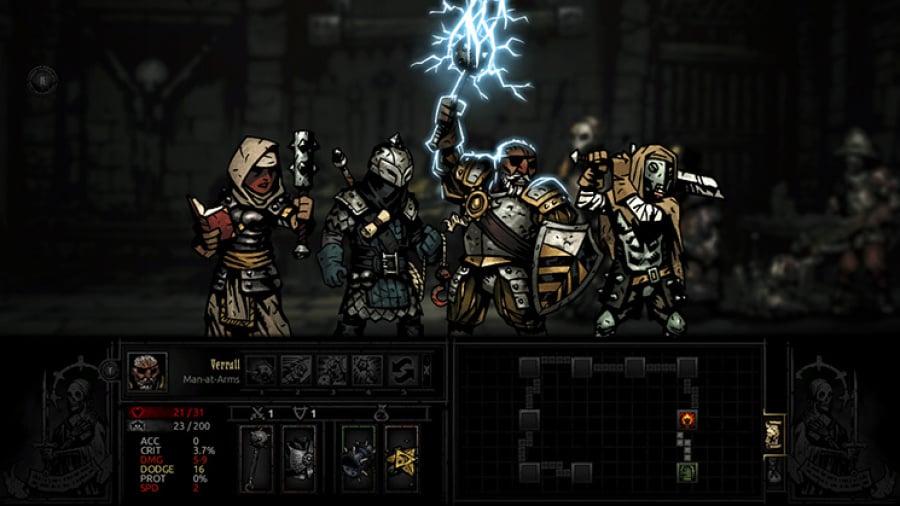 Darkest Dungeon Review - Screenshot 2 of 4