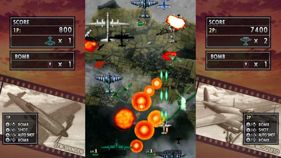Strikers 1945 II Review - Screenshot 1 of 4