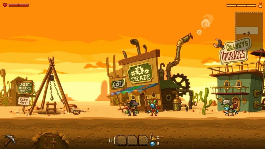 SteamWorld Dig Review - Screenshot 2 of 4