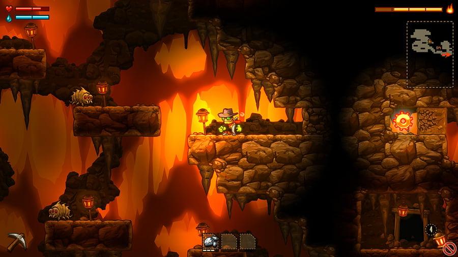SteamWorld Dig Review - Screenshot 1 of 4