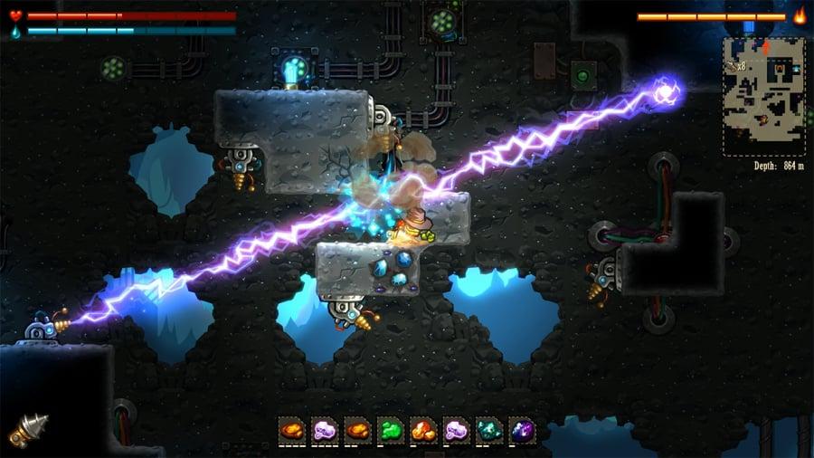 SteamWorld Dig Review - Screenshot 4 of 4