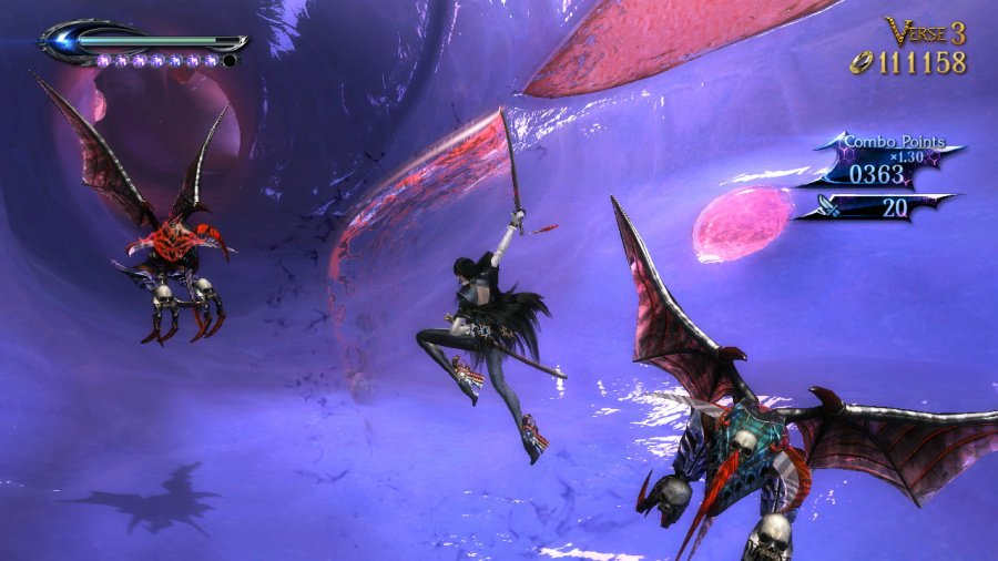 Bayonetta 2 Review - Screenshot 2 of 4