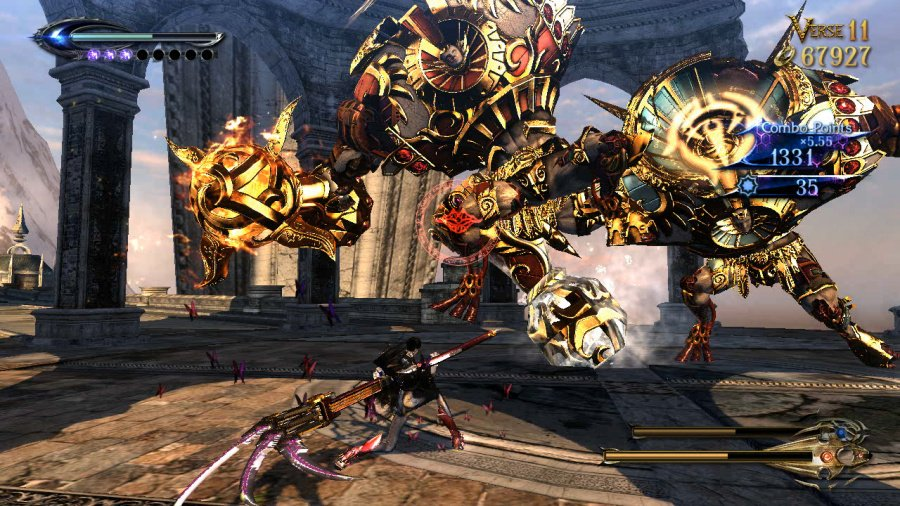 Bayonetta 2 Review - Screenshot 2 of 5