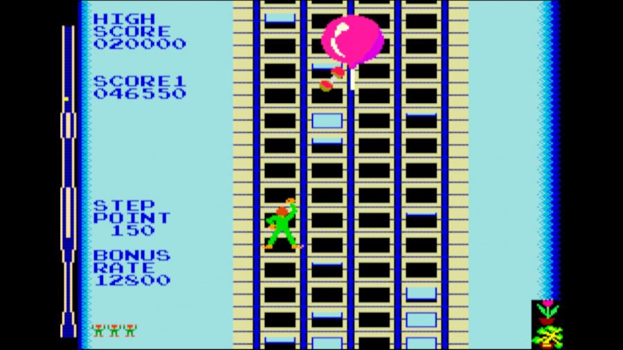 Arcade Archives Crazy Climber Review - Screenshot 3 of 4