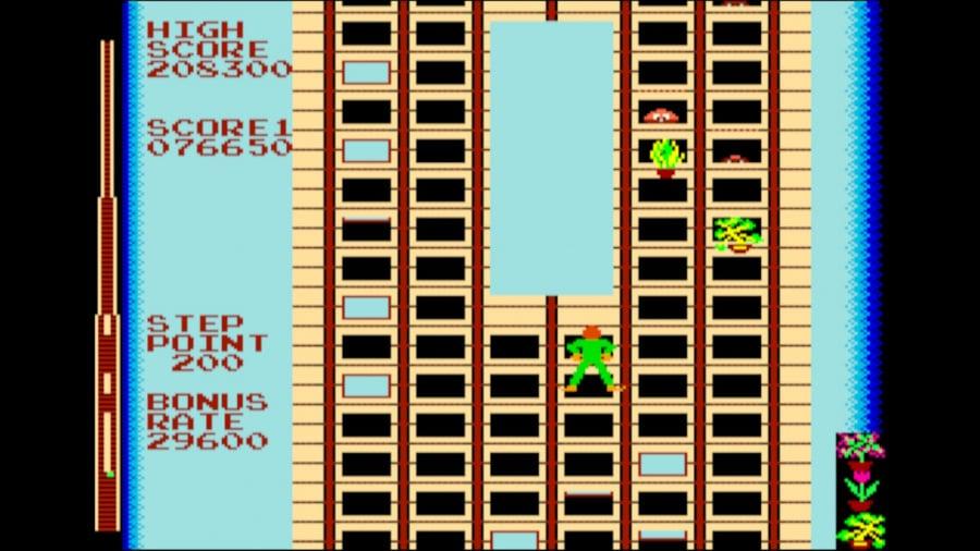 Arcade Archives Crazy Climber Review - Screenshot 2 of 4