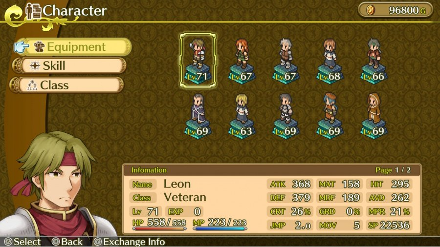Mercenaries Saga Chronicles Review - Screenshot 1 of 4
