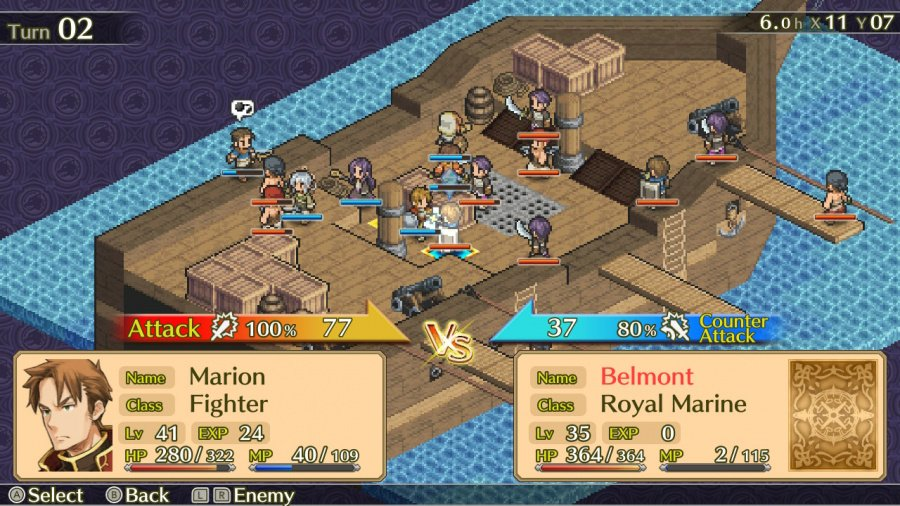 Mercenaries Saga Chronicles Review - Screenshot 3 of 4