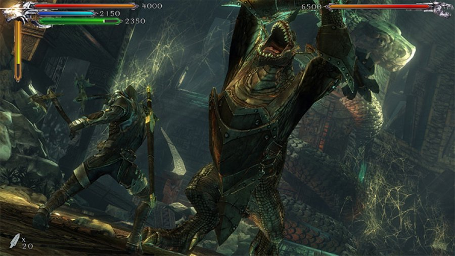 Joe Dever's Lone Wolf Review - Screenshot 2 of 4