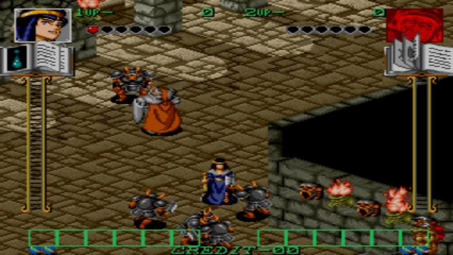Johnny Turbo's Arcade: Gate Of Doom Review - Screenshot 1 of 3