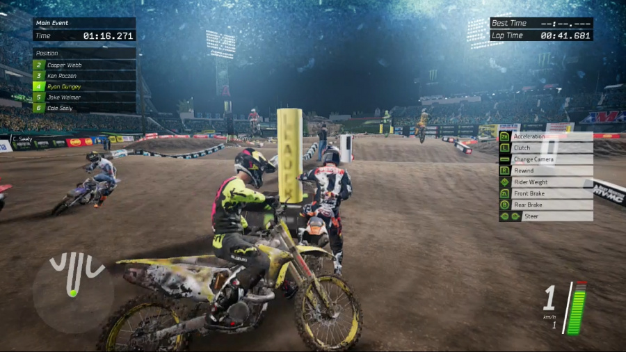 Monster Energy Supercross - The Official Videogame Review - Screenshot 1 of 3