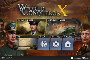 World Conqueror X Screenshot