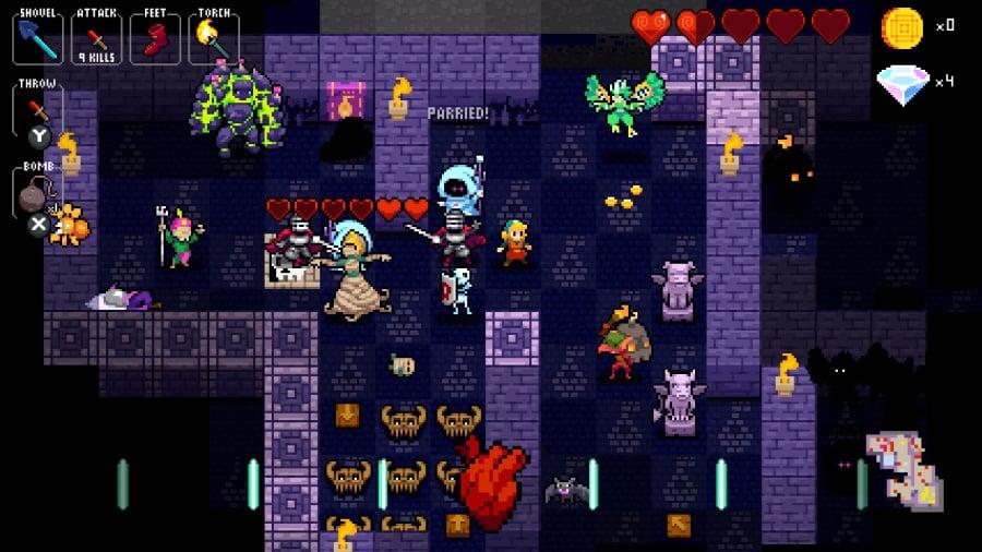 Crypt of the NecroDancer Review - Screenshot 1 of 5