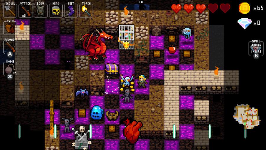 Crypt of the NecroDancer Review - Screenshot 3 of 5