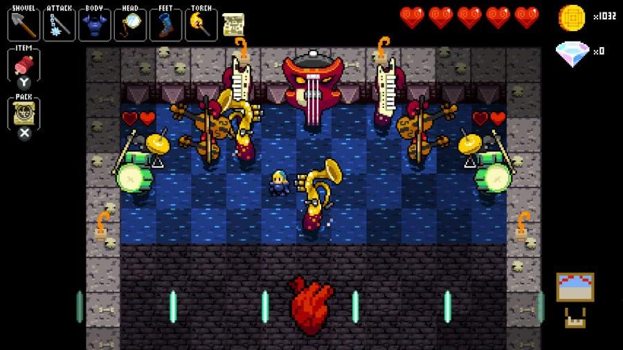 Crypt of the NecroDancer Review - Screenshot 2 of 5