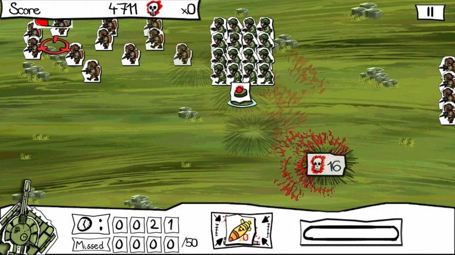 Paper Wars: Cannon Fodder Devastated Review - Screenshot 1 of 3