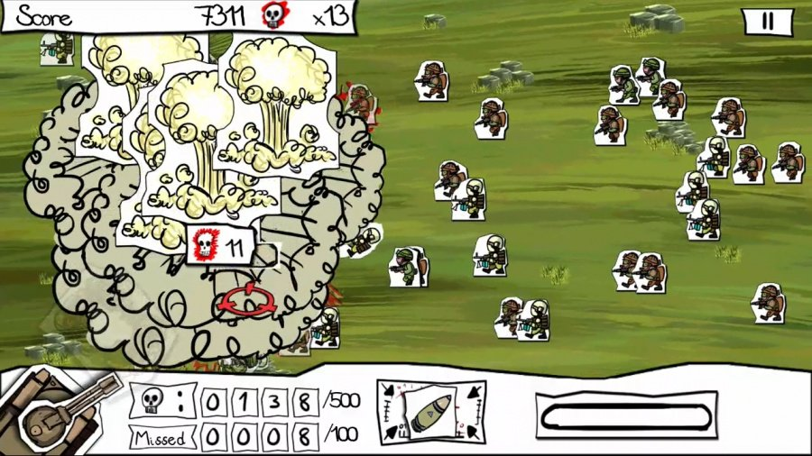 Paper Wars: Cannon Fodder Devastated Review - Screenshot 3 of 3
