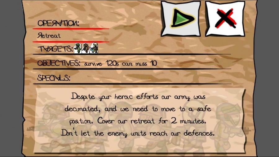 Paper Wars: Cannon Fodder Devastated Review - Screenshot 2 of 3