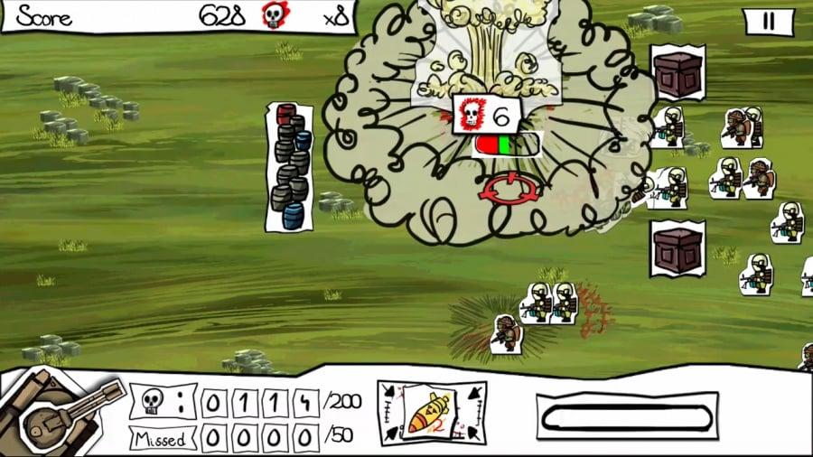 Paper Wars: Cannon Fodder Devastated Review - Screenshot 1 of 2