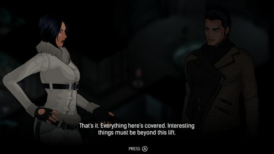 Fear Effect: Sedna Review - Screenshot 3 of 4