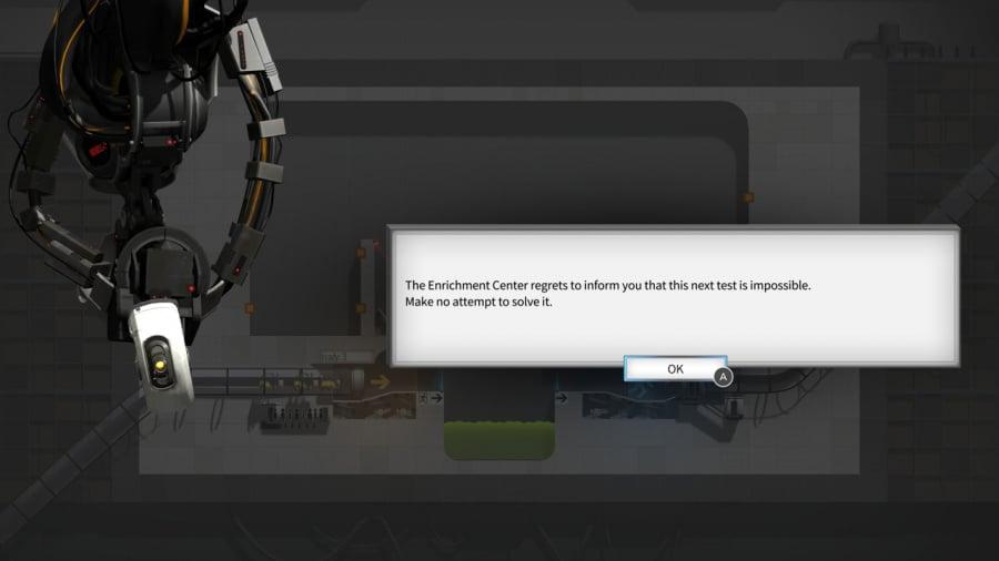 Bridge Constructor Portal Review - Screenshot 2 of 3