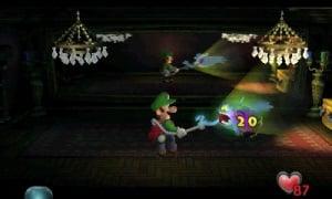 Luigi's Mansion Review - Screenshot 4 of 6