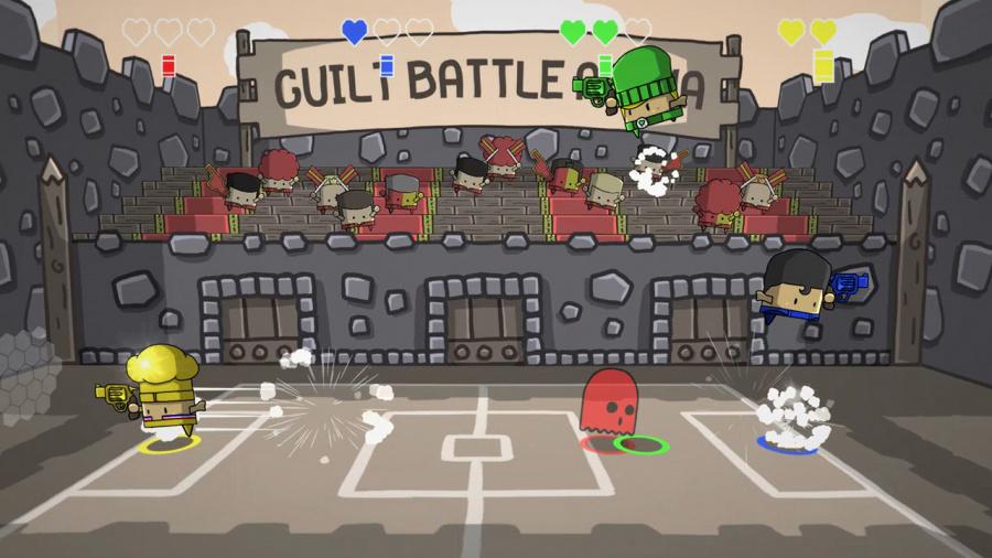 Guilt Battle Arena Review - Screenshot 1 of 4