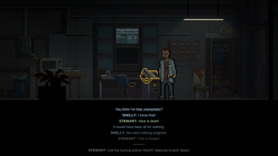 The Long Reach Review - Screenshot 1 of 4