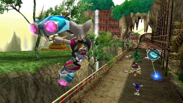 Sonic Riders: Zero Gravity Screenshot