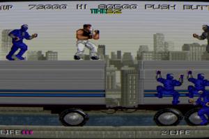 Johnny Turbo's Arcade: Bad Dudes Screenshot